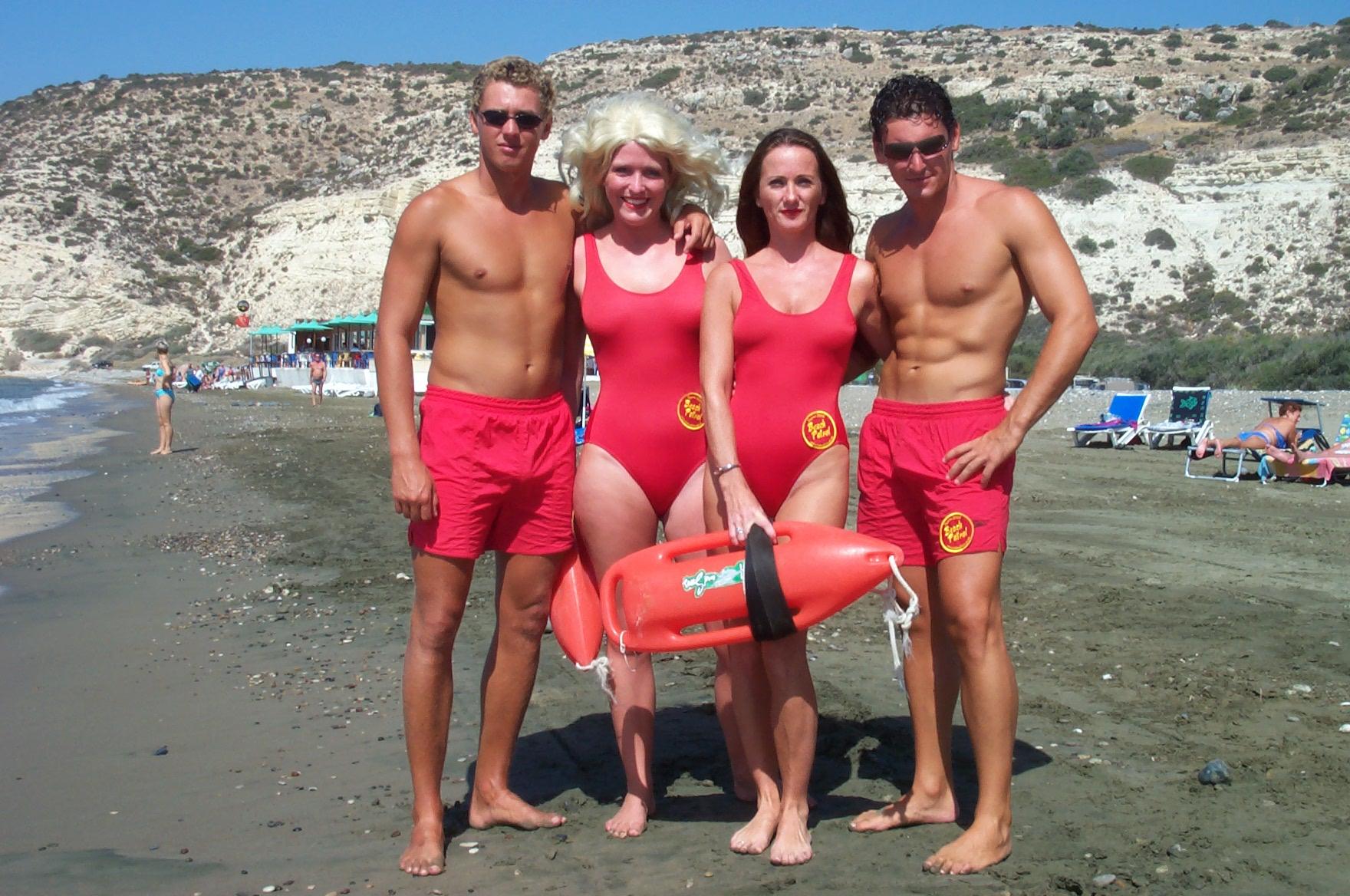 beach patrol cast backyard productions uk