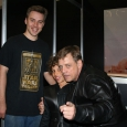 Daz, Luke and Mark Hamill