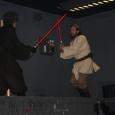 Obi-Wan and Anankin in battle