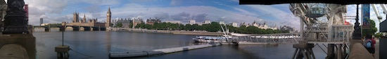 South bank panorama