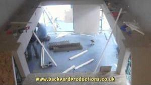 Drift Dairy Time Lapse Set building week November 2011