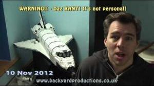 Daz Rants about Visual Effects and CGI – only cos he can't do it!
